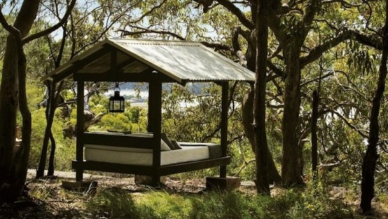 Beach Retreat For Relaxation In A Eucalypti Wood