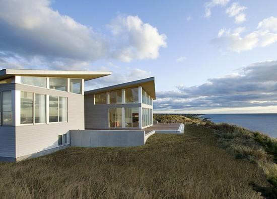 beach solar house