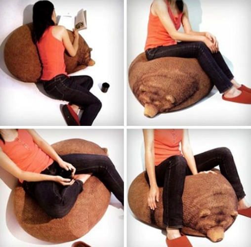 Beanbag Chair Bears