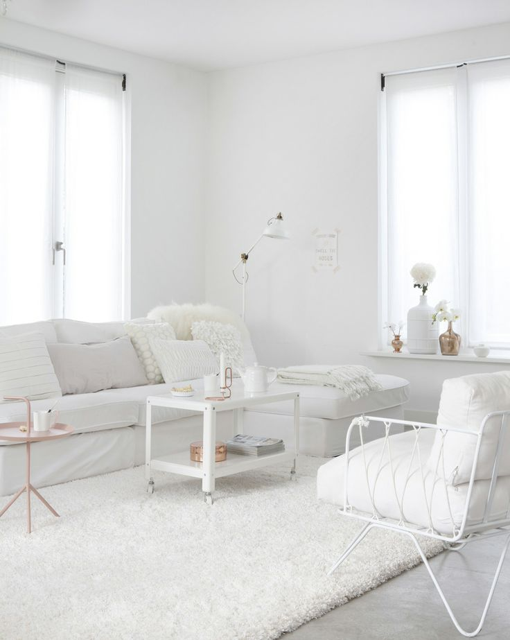 Advertisement Pictures of white living rooms