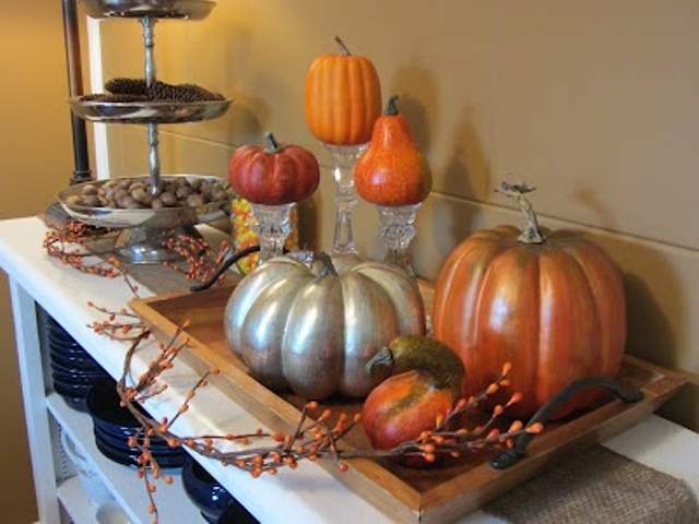 Fall Decorating Ideas For The Dining Room