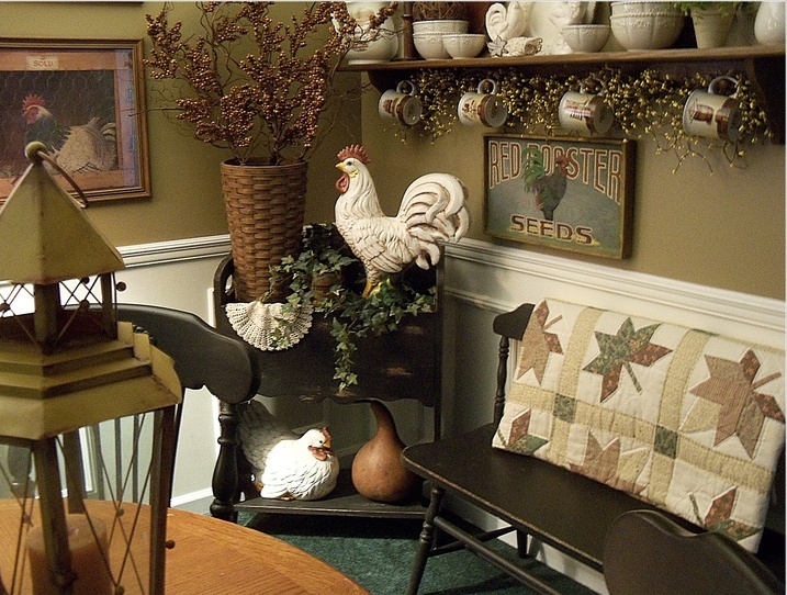 30 beautiful and cozy fall dining room d cor ideas digsdigs for Art decoration ideas for room