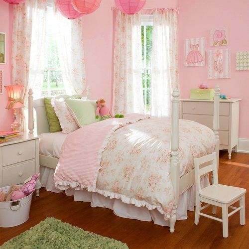 Cute Kids Rooms: 40 Beautiful And Cute Shabby Chic Kids Room Designs