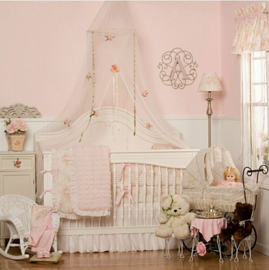 20 Beautiful Baby Boy Nursery Room Design Ideas Full Of: 40 Beautiful And Cute Shabby Chic Kids Room Designs