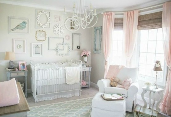 40 beautiful and cute shabby chic kids room designs digsdigs - Pics of beautiful room of girls ...