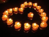 Beautiful And Romantic Candles For Valentine's Day