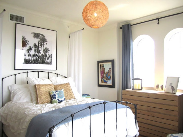 Picture of beautiful beach and sea inspired bedroom designs for Sea inspired bedroom designs