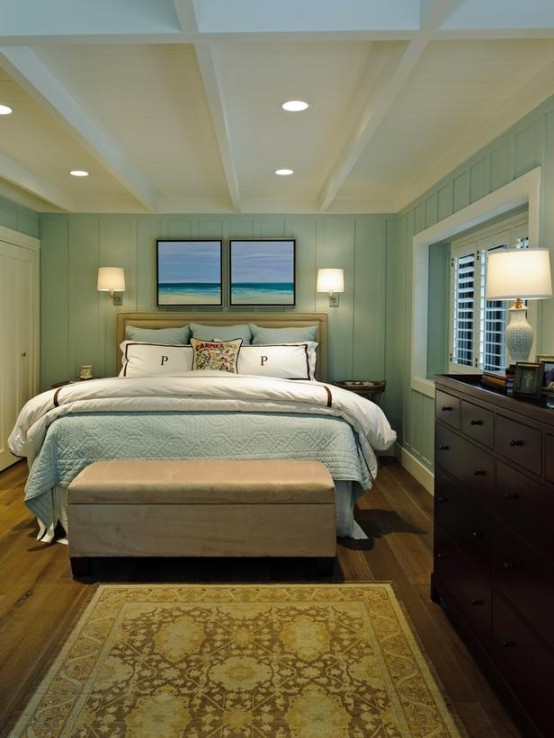 beautiful beach and sea inspired bedroom designs - Coastal Interior Design Ideas