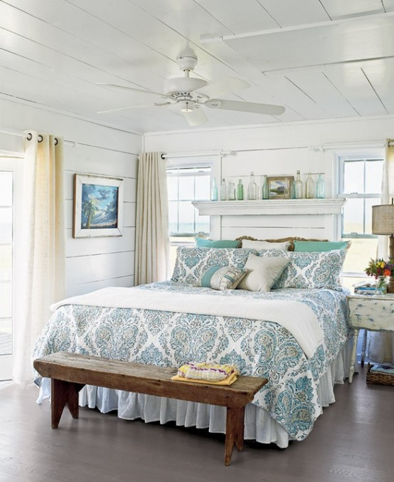 Pleasing 49 Beautiful Beach And Sea Themed Bedroom Designs Digsdigs Largest Home Design Picture Inspirations Pitcheantrous