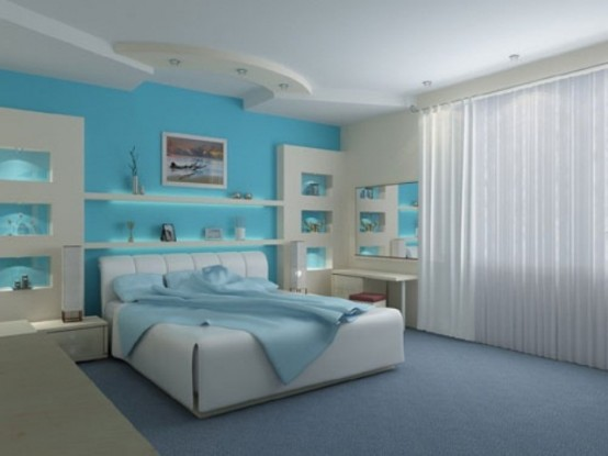Awe Inspiring 49 Beautiful Beach And Sea Themed Bedroom Designs Digsdigs Largest Home Design Picture Inspirations Pitcheantrous