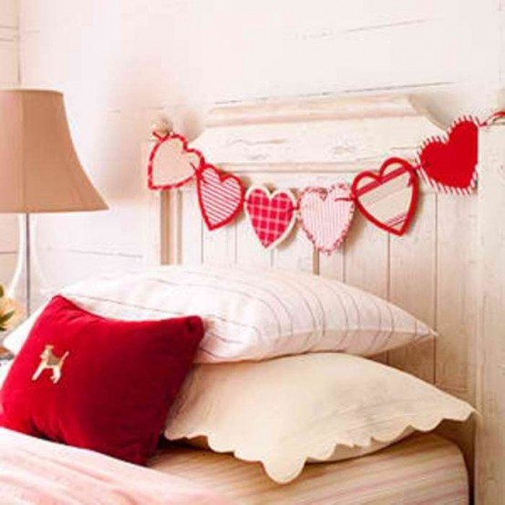 Themes for baby room valentine 39 s day bedroom decorating ideas for Decorate for valentines day