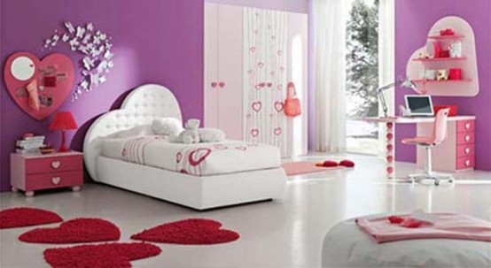 beautiful bedroom interior ideas for valentines day - Beautiful Bedroom