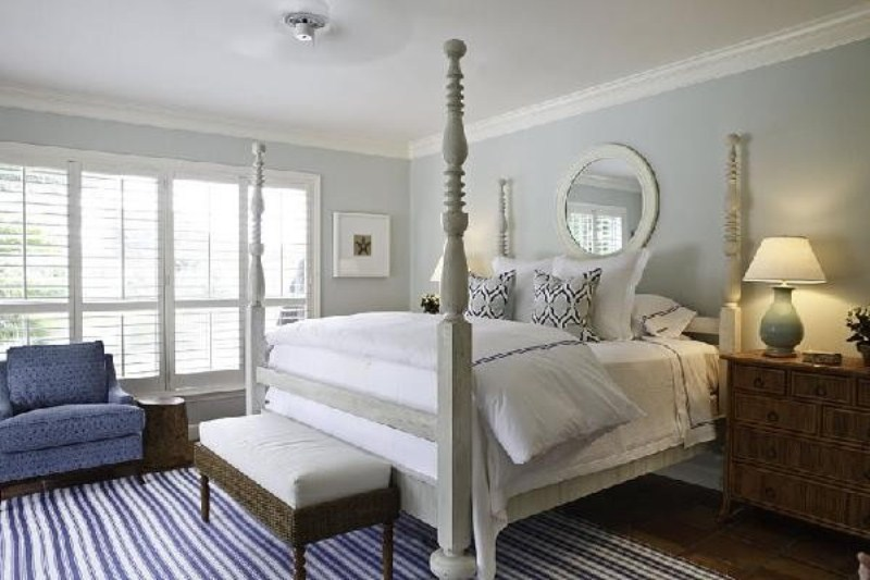 20 beautiful blue and gray bedrooms digsdigs - Beautiful bed room wall color ...
