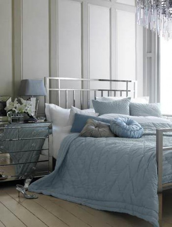 Beautiful Blue And Gray Bedrooms 20  DigsDigs