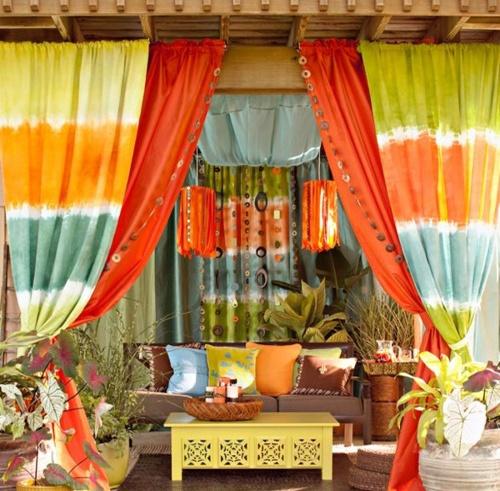 57 Beautiful Bohemian Patio Designs Digsdigs