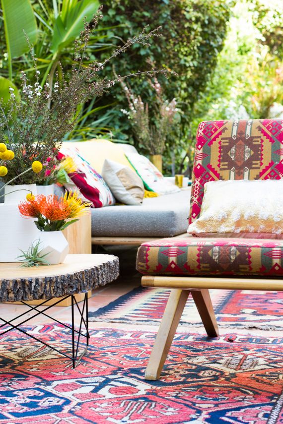 37 Beautiful Bohemian Patio Designs | DigsDigs on Bohemian Patio Ideas id=19476