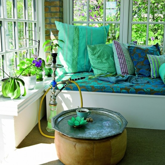 Beautiful Boho Sunroom Design Ideas