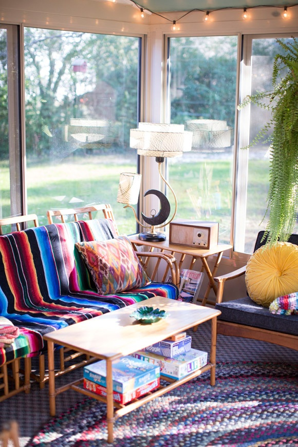 23 Beautiful Boho Sunroom Design Ideas Interior