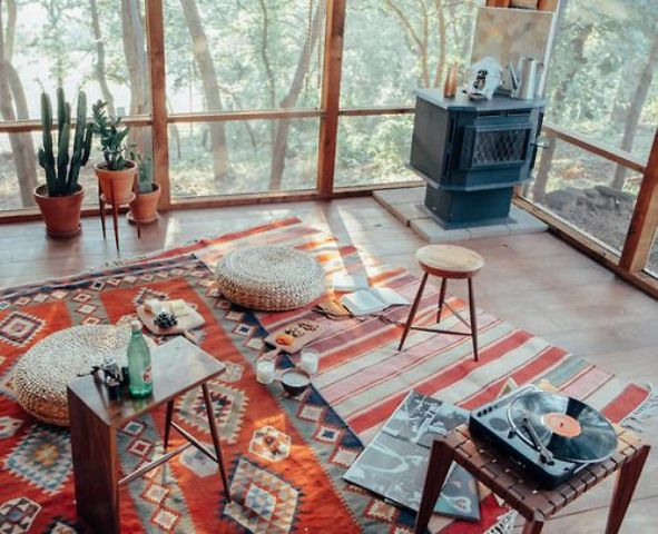 Beautiful Boho Sunroom Design Ideas