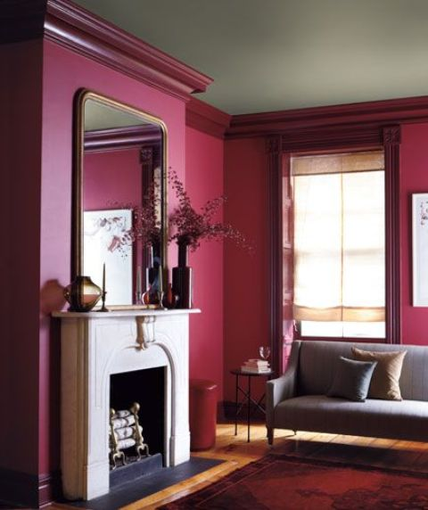 26 beautiful burgundy accents for fall home d cor digsdigs for Home decor accents