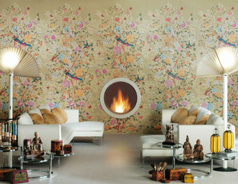 Beautiful Ceramic Tiles That Remind Of Wallpaper