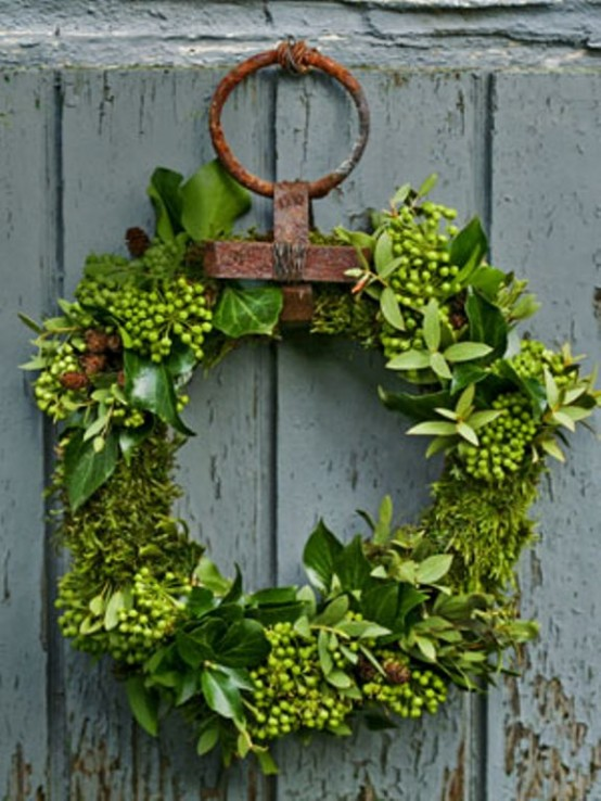 Pine And Fir Twigs Are Great But You Can Make From Other Evergreens Too Ivy
