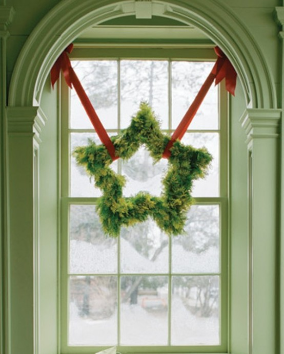 75 Awesome Christmas Wreaths Ideas For All Types Of Du00e9cor - DigsDigs
