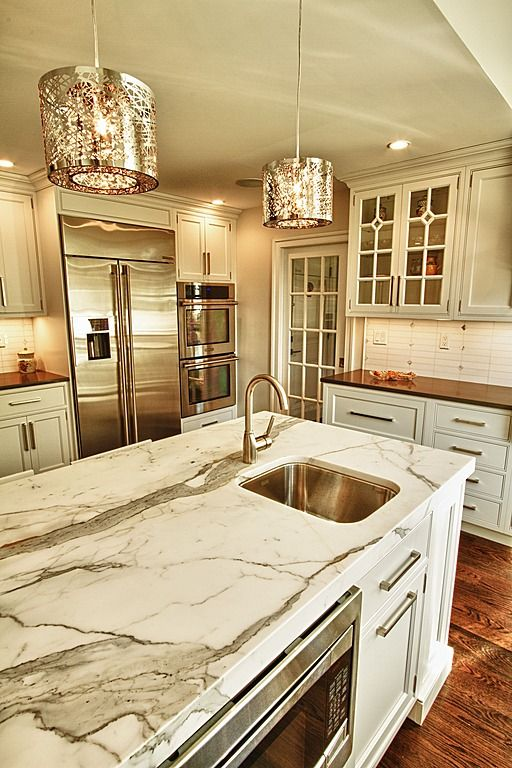 Tips For Kitchen Color Ideas: 26 Beautiful Glam Kitchen Design Ideas To Try