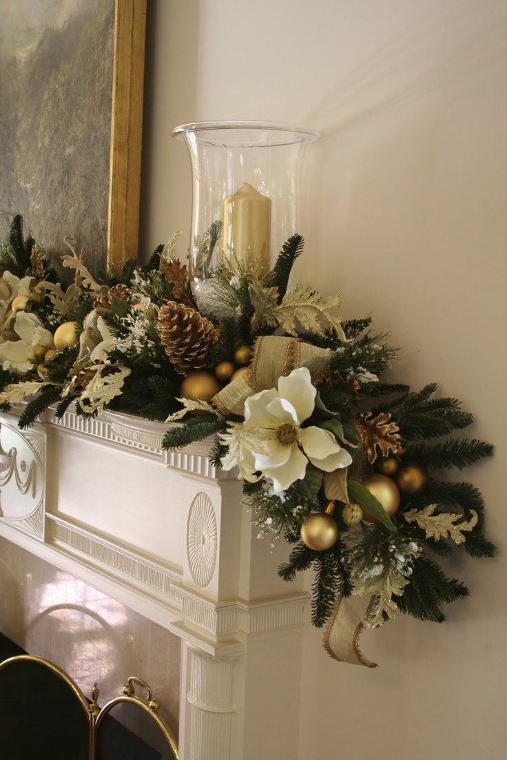 Southern style holidays 30 beautiful magnolia decorations for Home decor centerpieces
