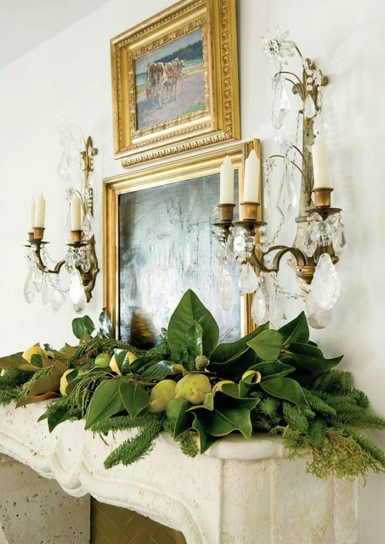 Southern style holidays 30 beautiful magnolia decorations digsdigs Southern home decor on pinterest