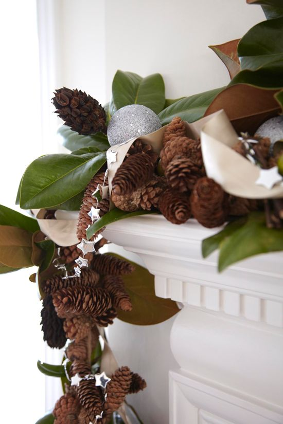 Southern Style Holidays  30 Beautiful Magnolia Decorations