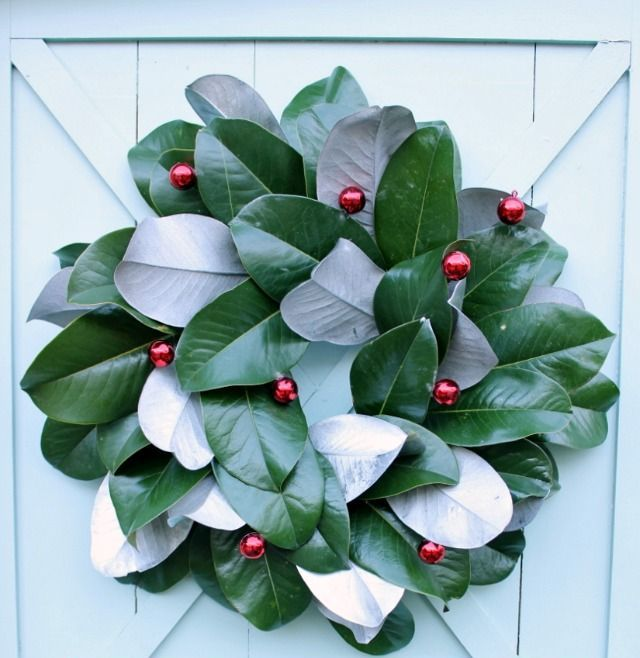 Southern Style Holidays: 30 Beautiful Magnolia Decorations