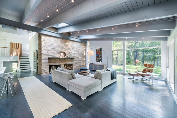 Beautiful Mid-Century House Renovation In Neutral Shades