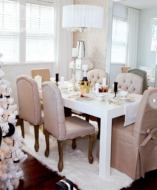 Beautiful Dining: 25 Beautiful Neutral Dining Room Designs