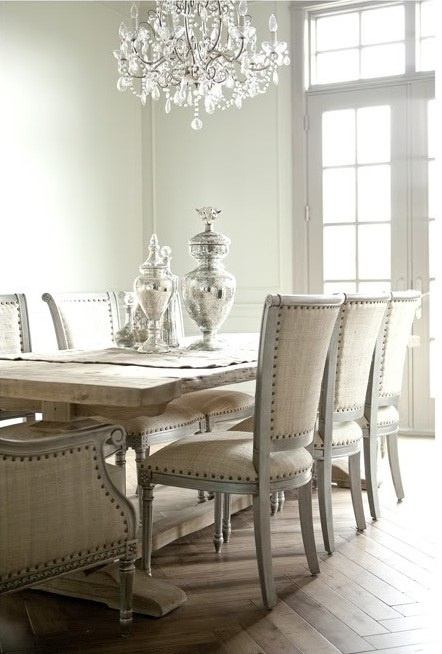 Beautiful neutral dining room designs digsdigs - Stunning image of breakfast room design and decoration ...