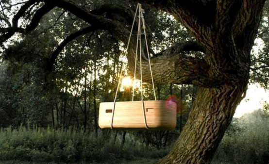 Beautiful NOACH Cradle For Outdoors by Joost van Veldhuizen