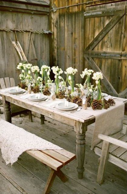 1000 images about dining al fresco on pinterest table Outdoor dinner table setting