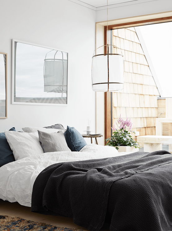 Beautiful Scandinavian Apartment Decorated In Soothing