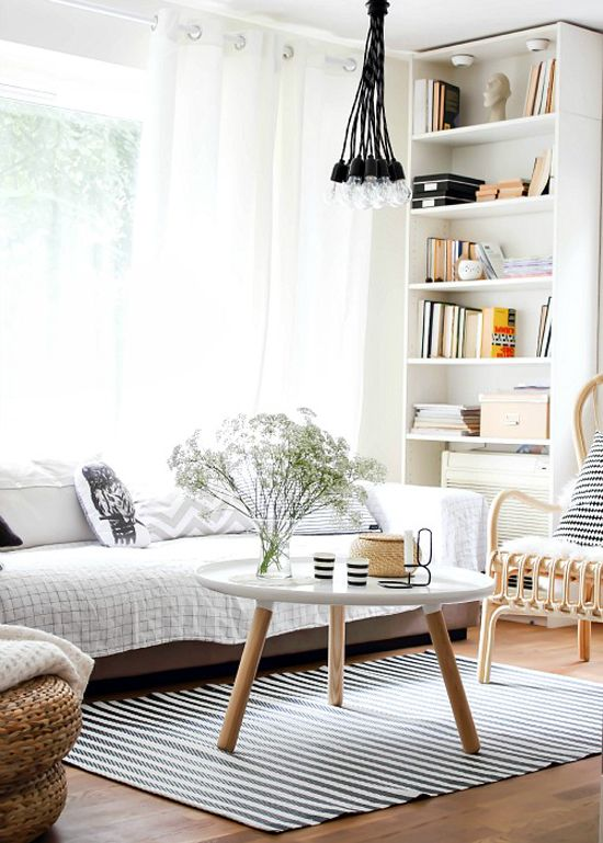 45 Beautiful Scandinavian Living Room Designs - DigsDigs