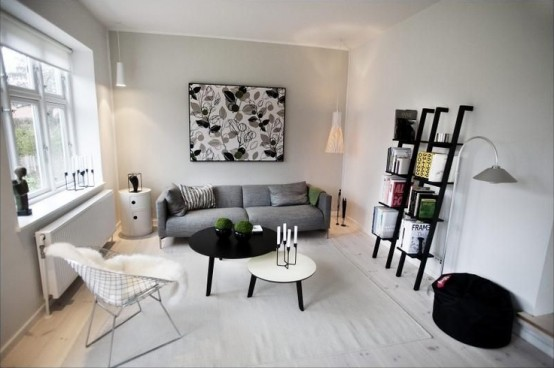 Beautiful Scandinavian Lixing Room Designs Part 95