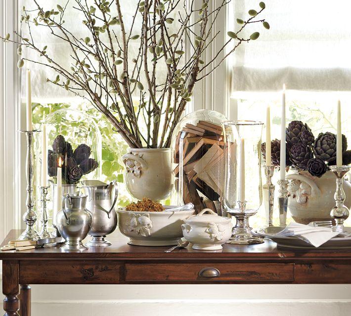 12 beautiful table settings for hanukkah digsdigs for Decoration hanouka