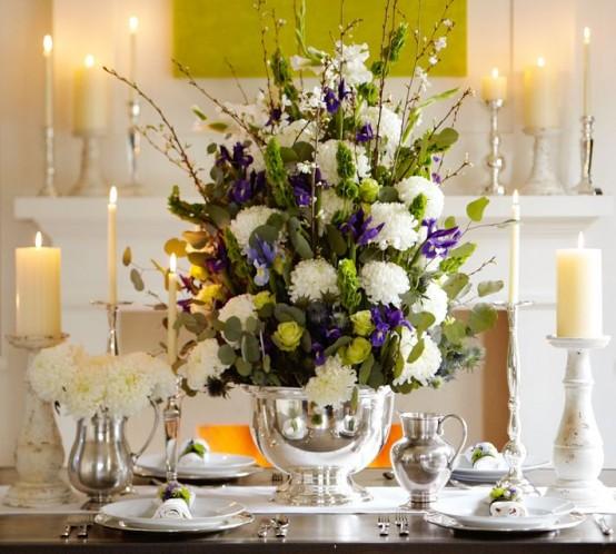 Beautiful Table Settings For Hanukkah
