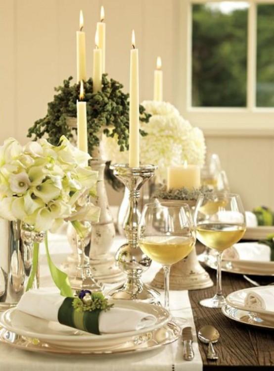 Beautiful Table Settings For Hanukkah & 12 Beautiful Table Settings For Hanukkah - DigsDigs