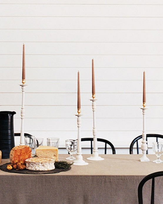 Beautiful Table Settings For Hanukkah