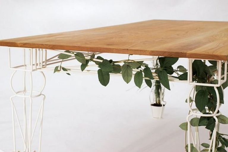 beautiful table with legs for growing plants digsdigs