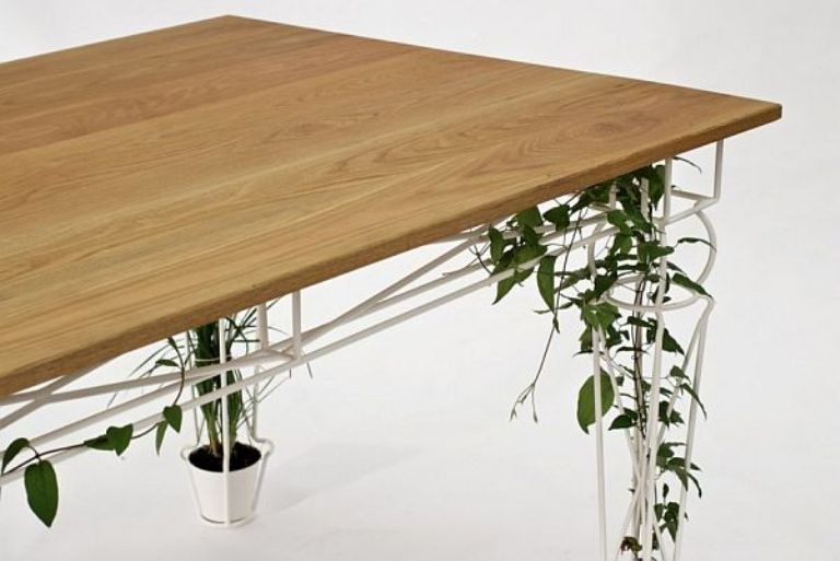Beautiful Table With Legs For Growing Plants