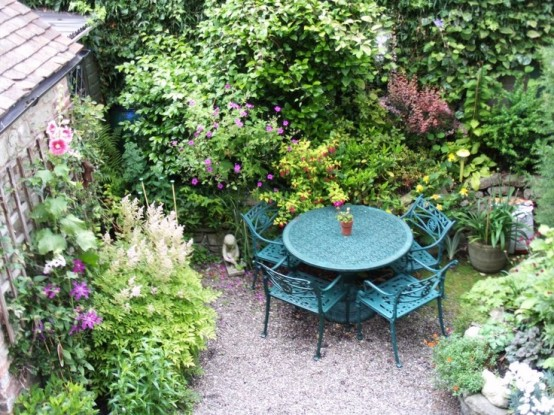 Beautiful Townhouse Courtyard Garden Designs