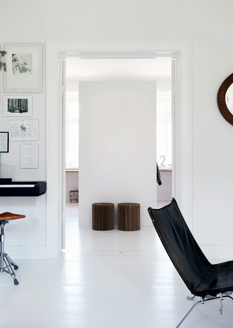 Beautiful White Home With Smart Sorage Solutions