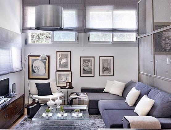 Beautifully Decorated 48 Square Meter Apartment