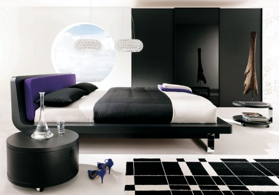 Bed from Huelsta collection